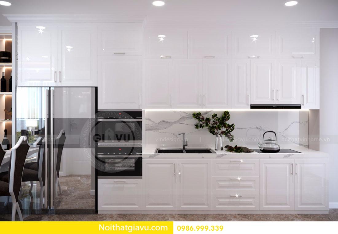 thiết kế nội thất D Capitale căn 01 tòa C6 căn hộ 2 phòng ngủ 03