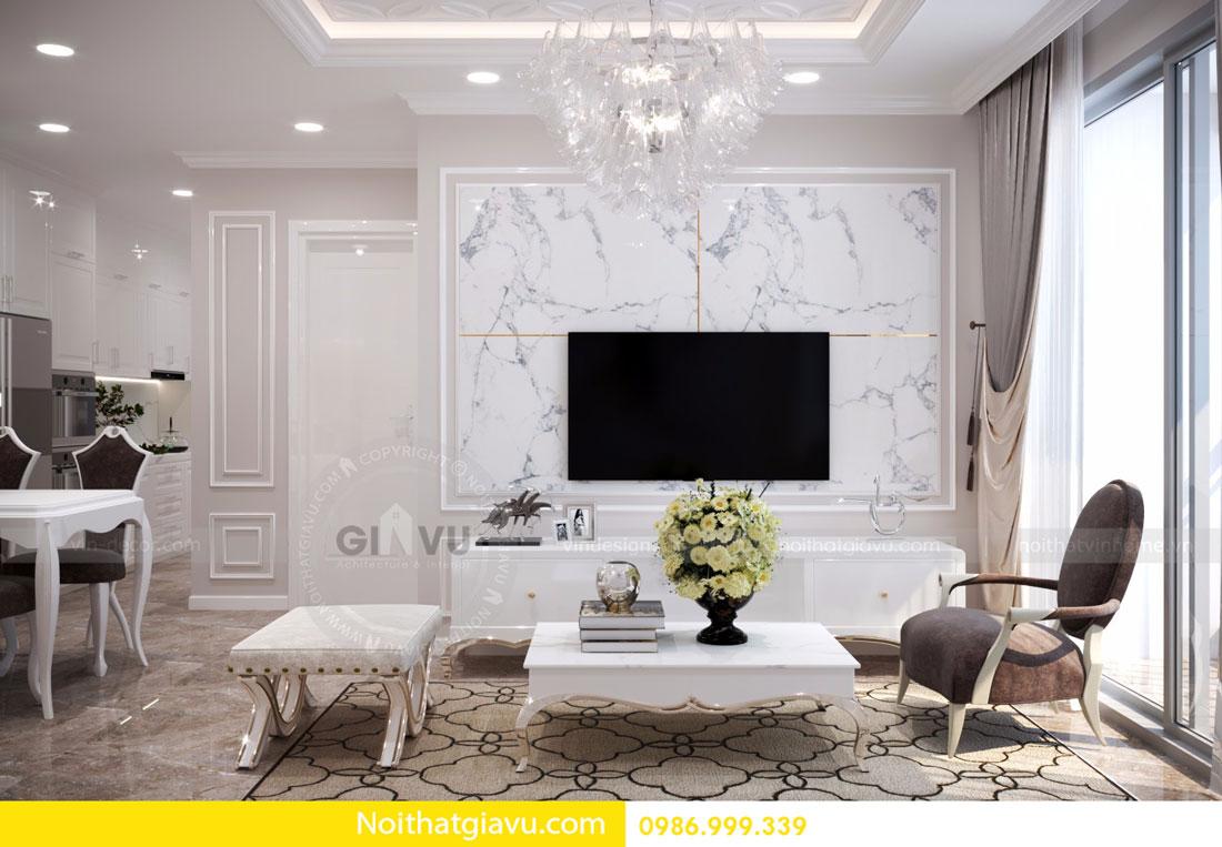 thiết kế nội thất D Capitale căn 01 tòa C6 căn hộ 2 phòng ngủ 04