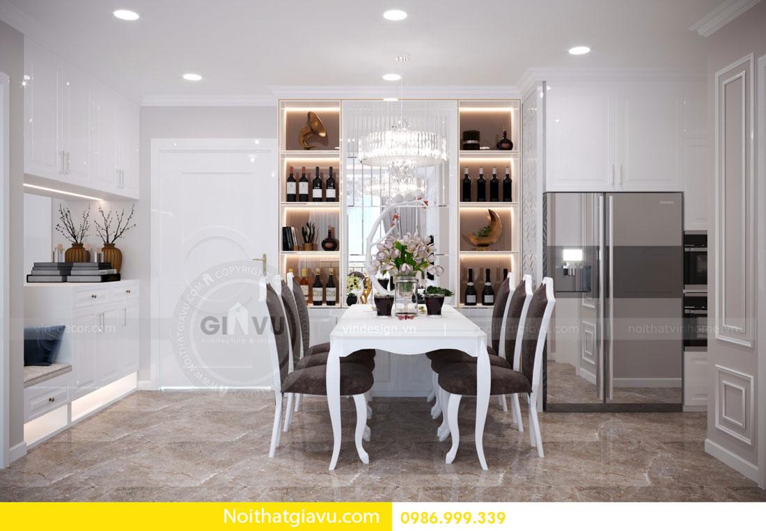 thiết kế nội thất D Capitale căn 01 tòa C6 căn hộ 2 phòng ngủ 05