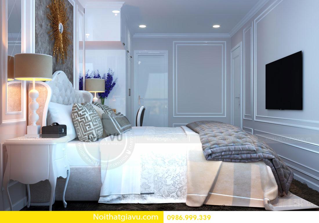 thiết kế nội thất D Capitale căn 01 tòa C6 căn hộ 2 phòng ngủ 07