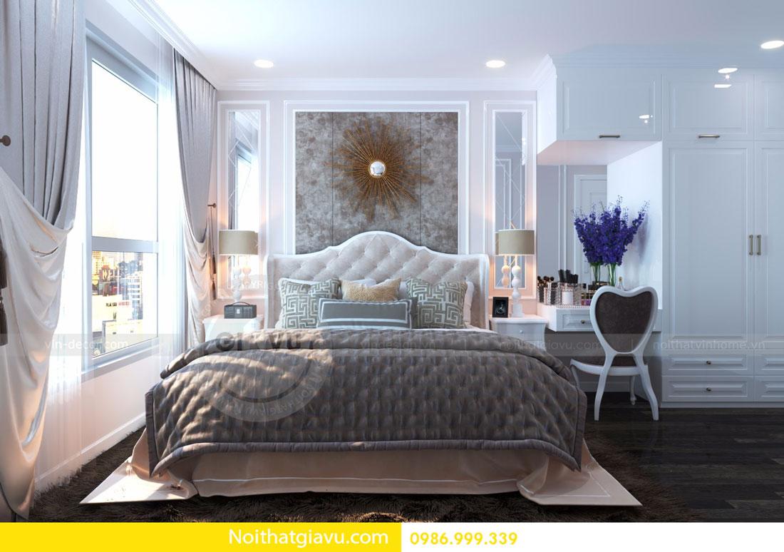 thiết kế nội thất D Capitale căn 01 tòa C6 căn hộ 2 phòng ngủ 08