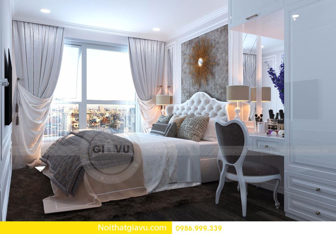thiết kế nội thất D Capitale căn 01 tòa C6 căn hộ 2 phòng ngủ 09