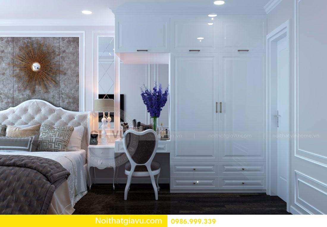 thiết kế nội thất D Capitale căn 01 tòa C6 căn hộ 2 phòng ngủ 10