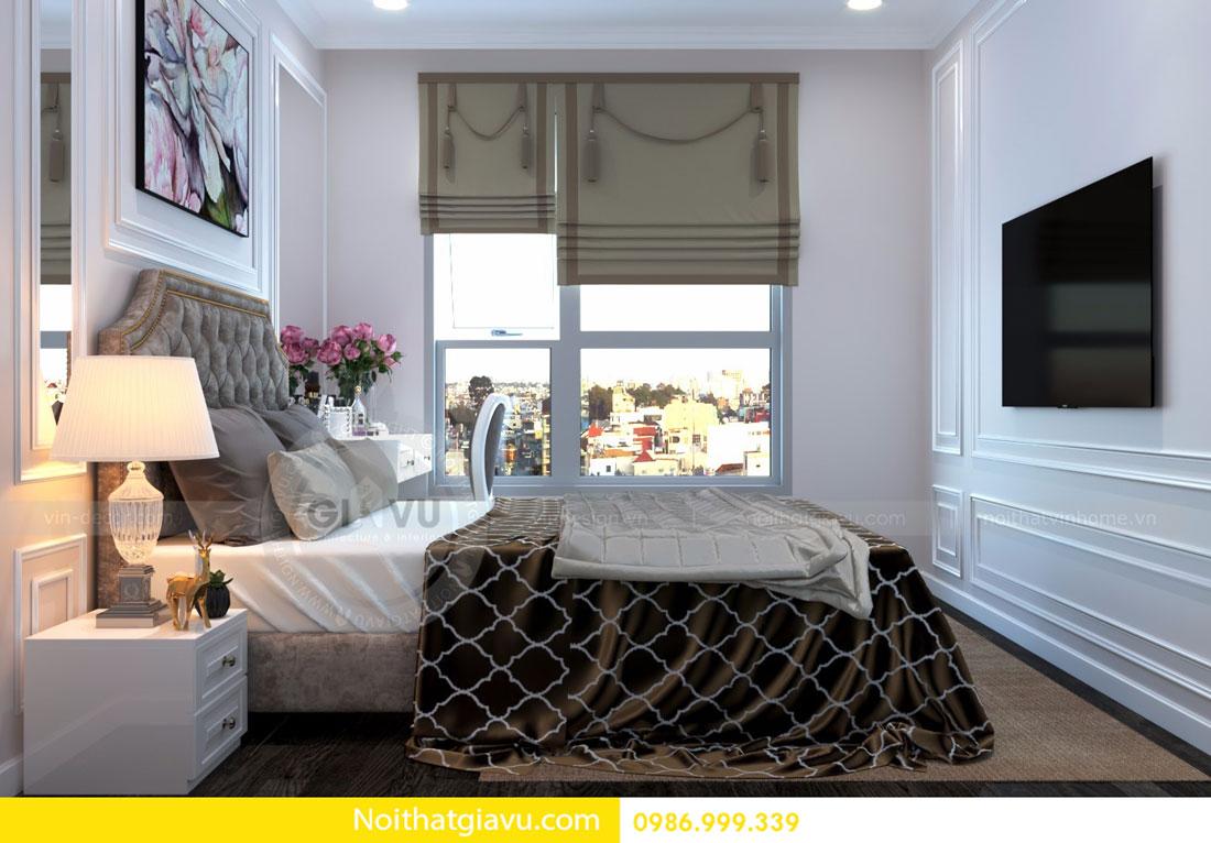 thiết kế nội thất D Capitale căn 01 tòa C6 căn hộ 2 phòng ngủ 11