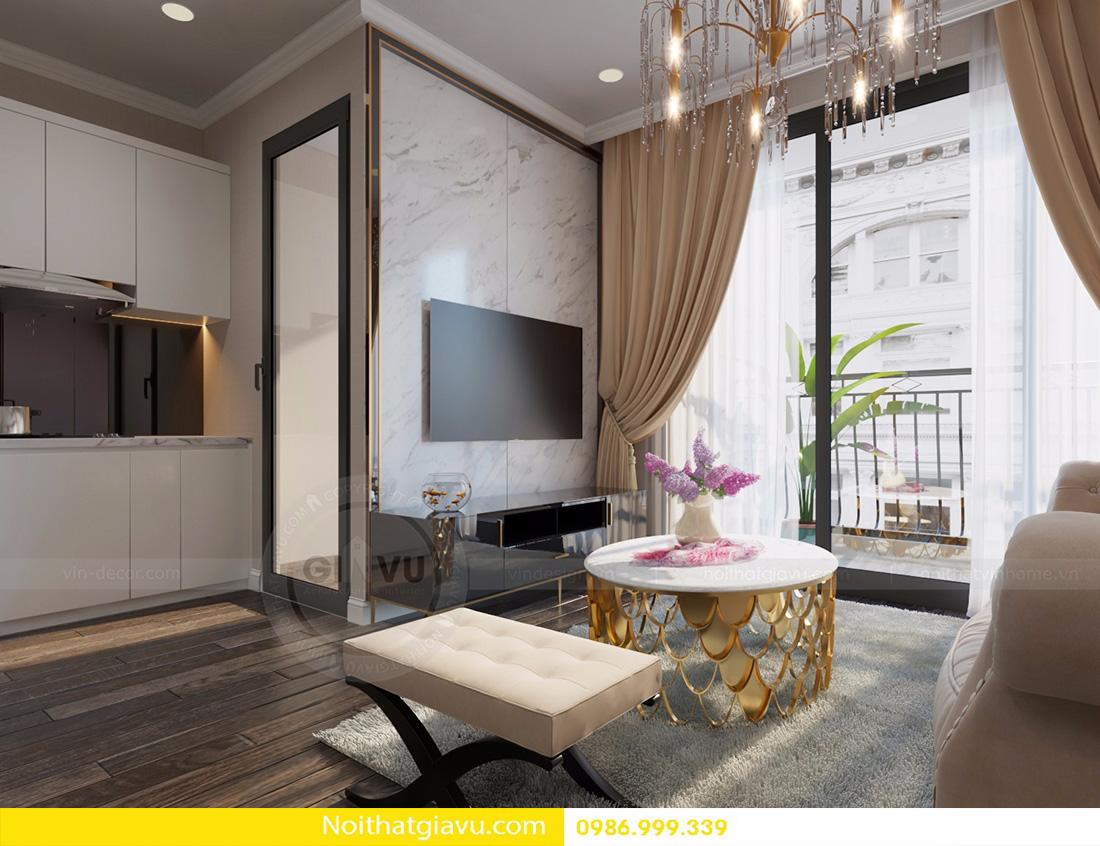 thiết kế nội thất Vinhomes Gardenia phong cách độc đáo 02