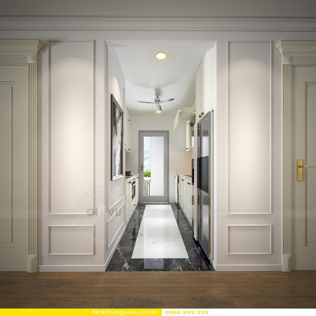 thiết kế thi công nội thất chung cư đẹp tại Hà Nội 07