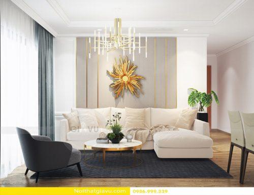 Tổng hợp mẫu thiết kế nội thất chung cư D Capitale phong cách hiện đại