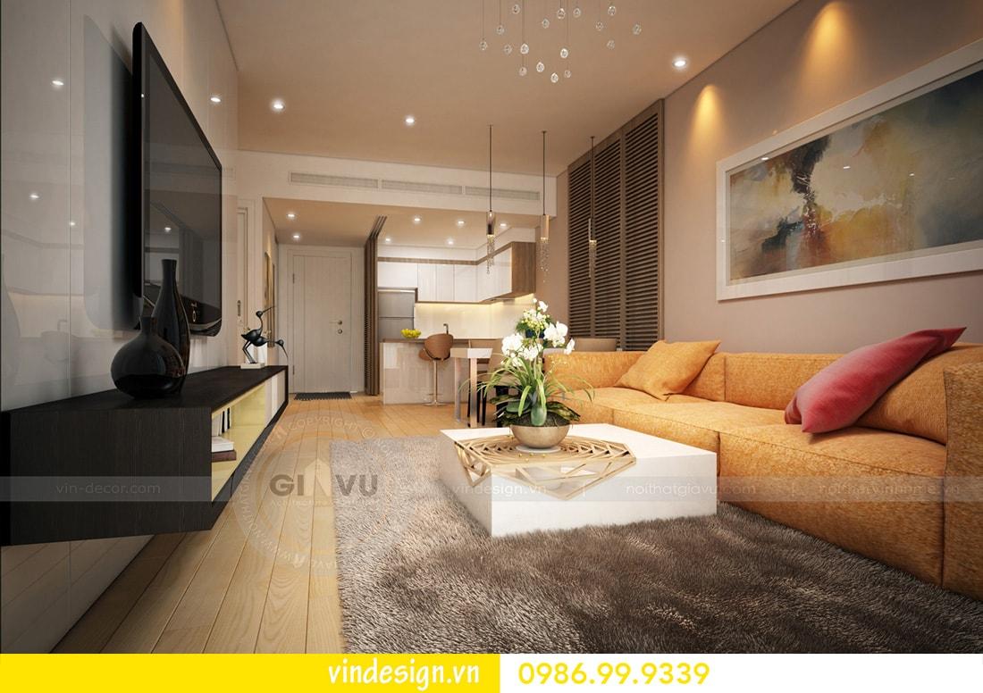 tổng hợp mẫu thiết kế nội thất chung cư Vinhomes D Capitale 12