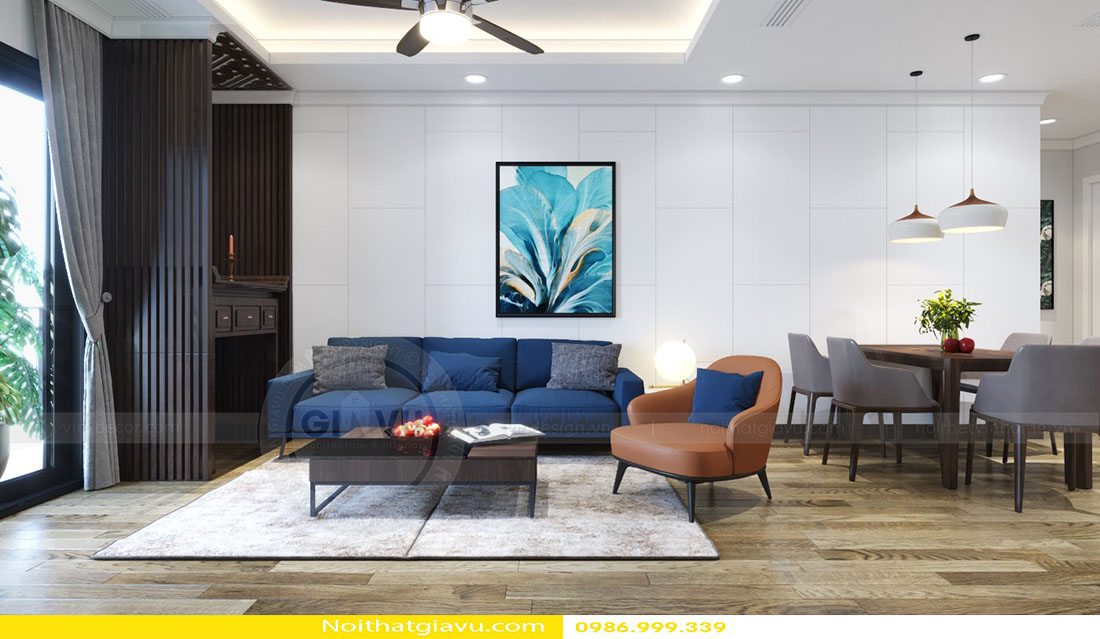tổng hợp mẫu thiết kế nội thất chung cư đẹp đẳng cấp 2018 08