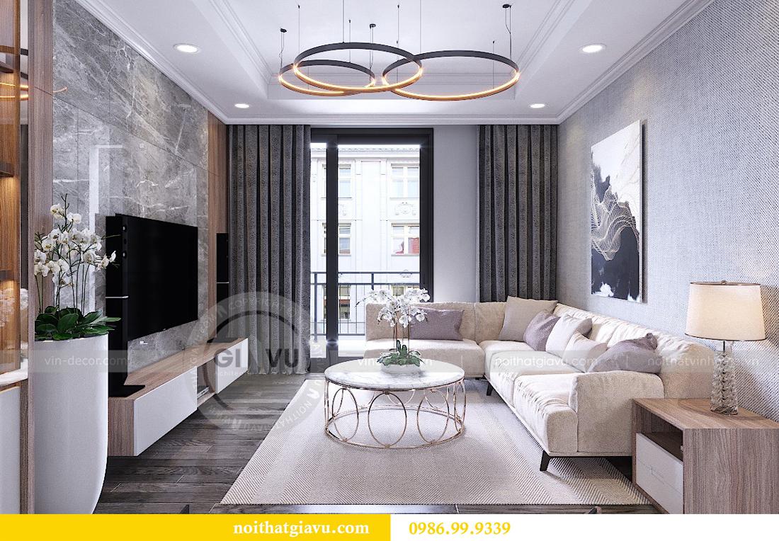 Thiết kế nội thất chung cư Vinhomes Metropolis - LH 0986999339 03