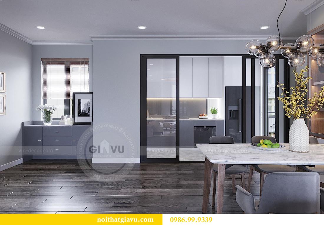 Thiết kế nội thất chung cư Vinhomes Metropolis - LH 0986999339 05