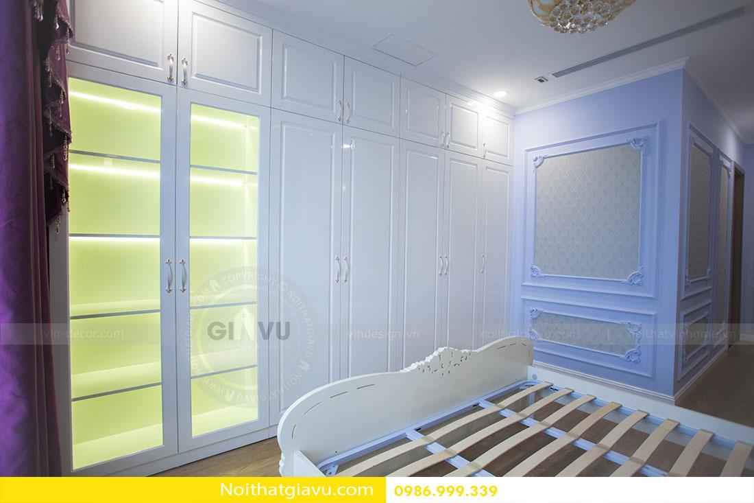 Hoàn thiện nội thất chung cư Gardenia căn 05 tòa A3 16