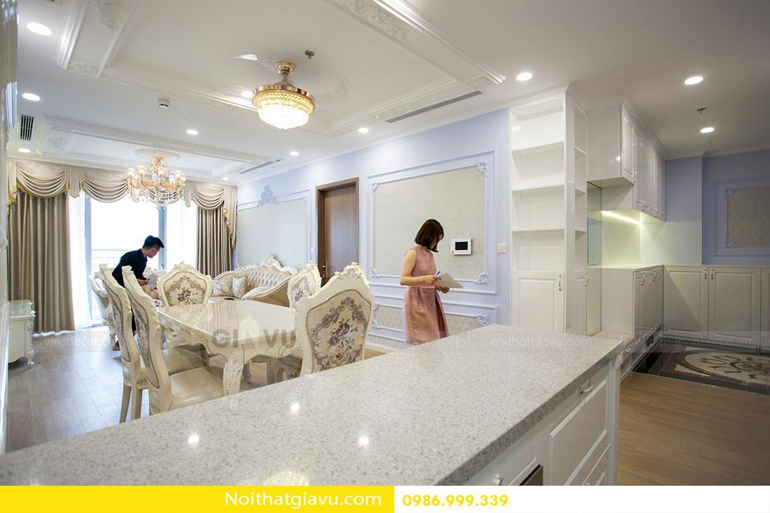 Hoàn thiện nội thất chung cư Gardenia căn 05 tòa A3 2