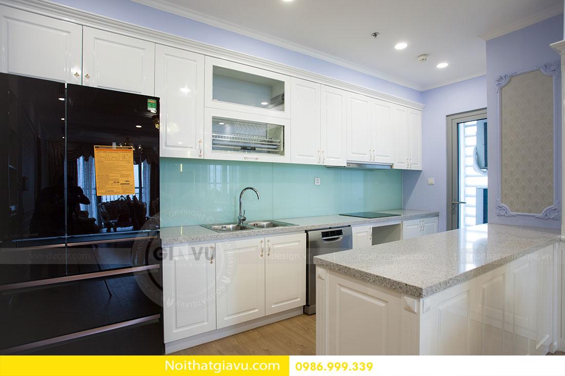 Hoàn thiện nội thất chung cư Gardenia căn 05 tòa A3 3