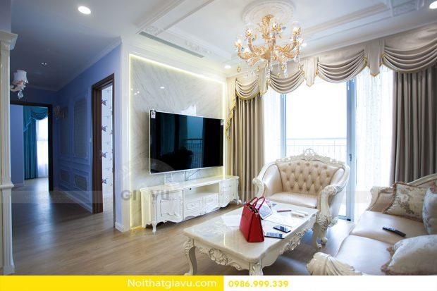 Hoàn thiện nội thất chung cư Gardenia căn 05 tòa A3 nhà chị Hoài