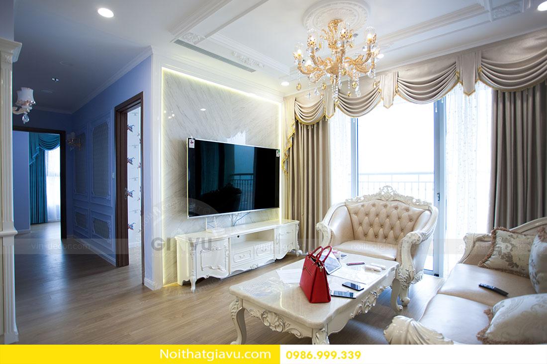 Hoàn thiện nội thất chung cư Gardenia căn 05 tòa A3 5