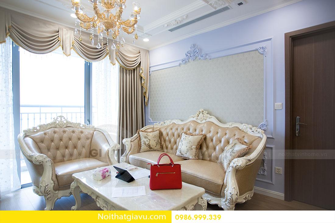 Hoàn thiện nội thất chung cư Gardenia căn 05 tòa A3 6