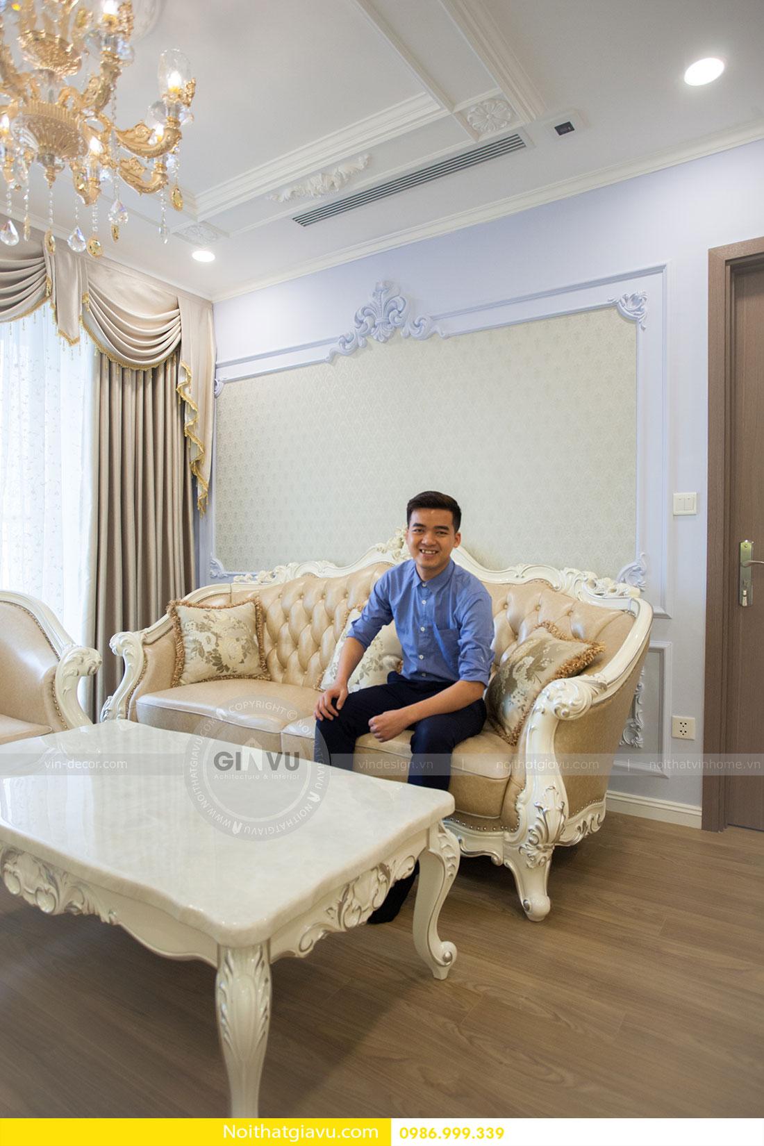 Hoàn thiện nội thất chung cư Gardenia căn 05 tòa A3 9