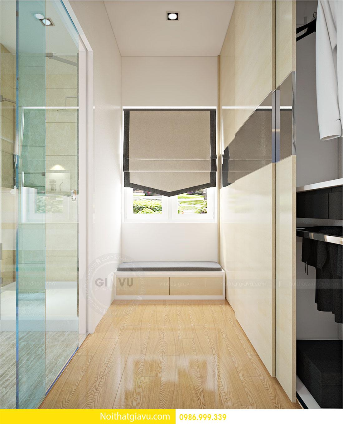 Thiết kế nội thất biệt thự Vinhomes Green Bay Mễ Trì 10
