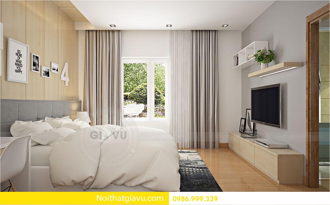 Thiết kế nội thất biệt thự Vinhomes Green Bay Mễ Trì 12