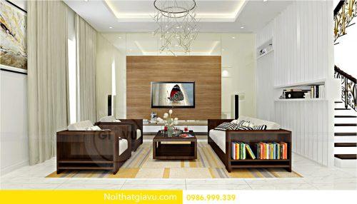 Thiết kế nội thất biệt thự Vinhomes Green Bay Mễ Trì – 0986999339