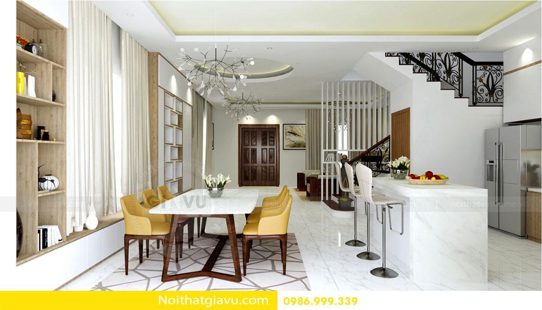 Thiết kế nội thất biệt thự Vinhomes Green Bay Mễ Trì 4