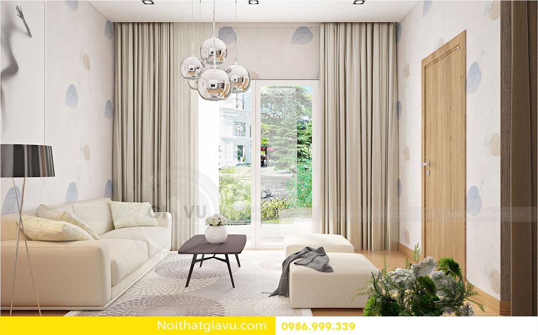 Thiết kế nội thất biệt thự Vinhomes Green Bay Mễ Trì 5