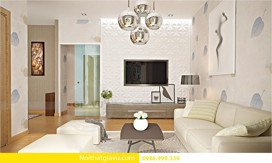 Thiết kế nội thất biệt thự Vinhomes Green Bay Mễ Trì 6
