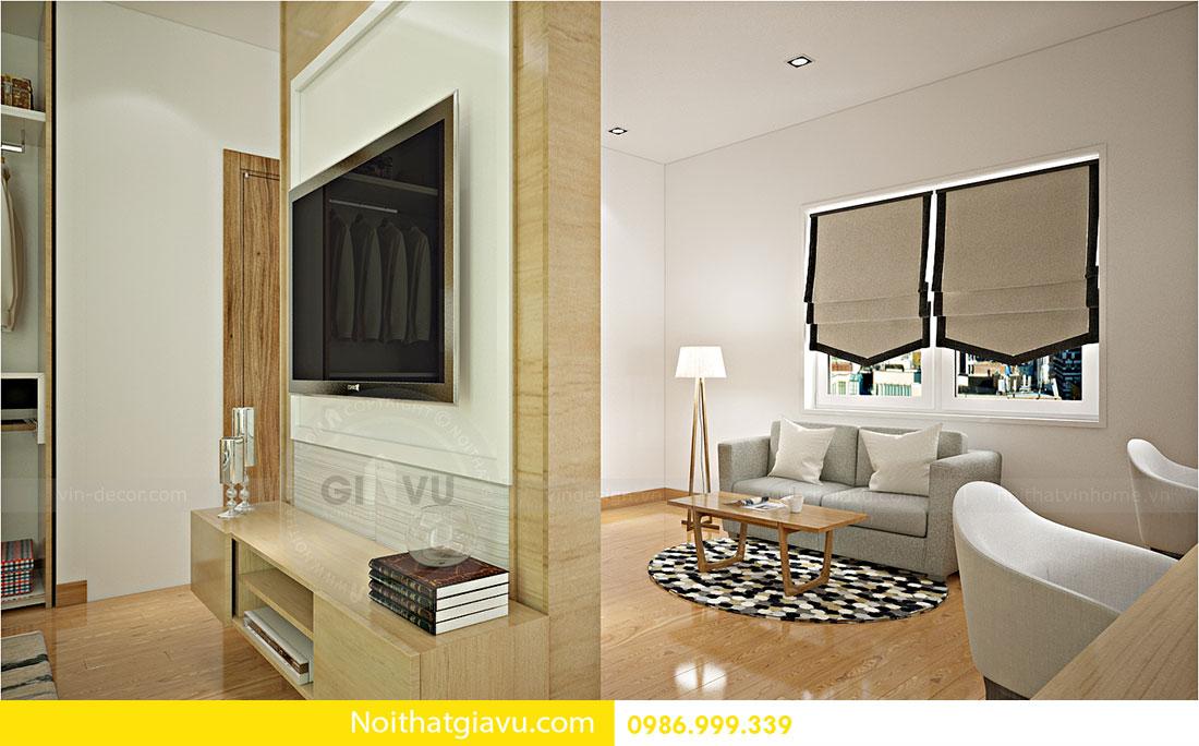 Thiết kế nội thất biệt thự Vinhomes Green Bay Mễ Trì 7