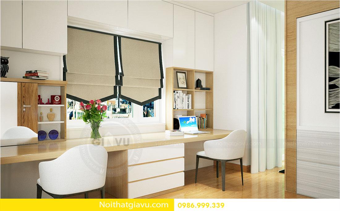 Thiết kế nội thất biệt thự Vinhomes Green Bay Mễ Trì 8