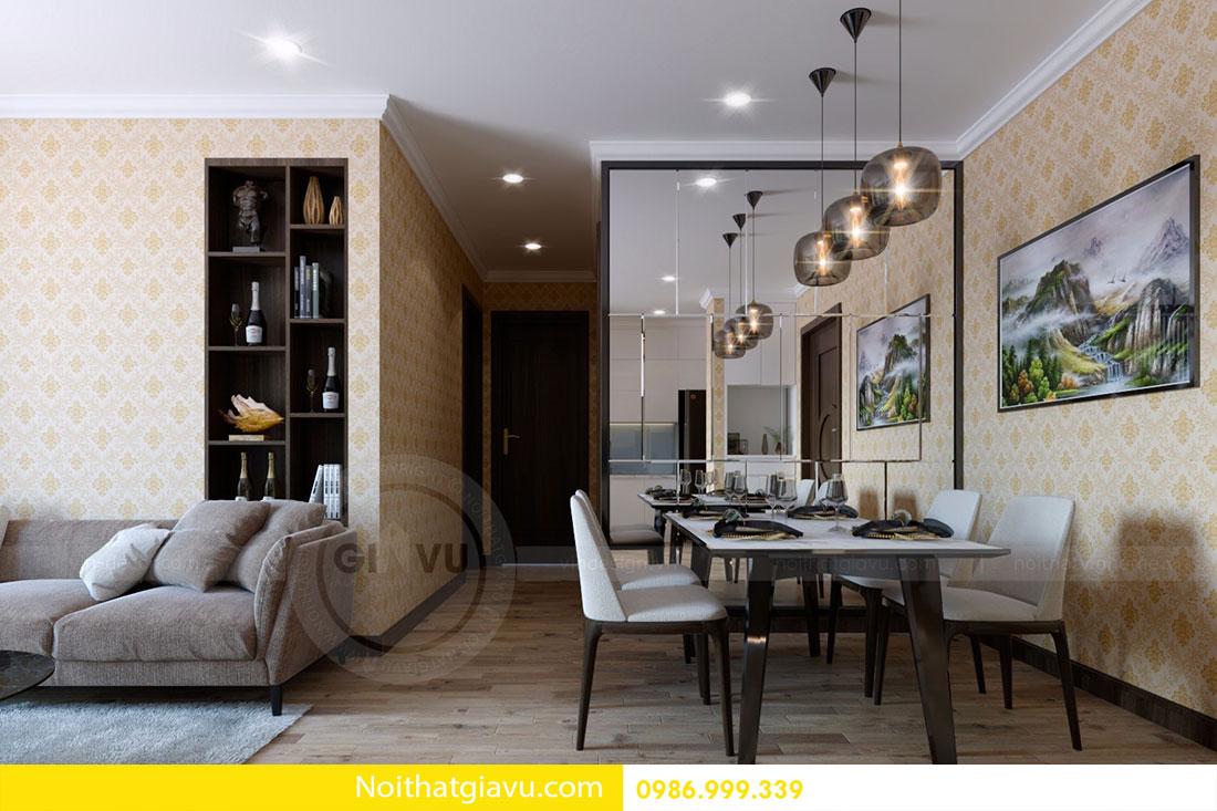 Thiết kế nội thất chung cư Gardenia 2