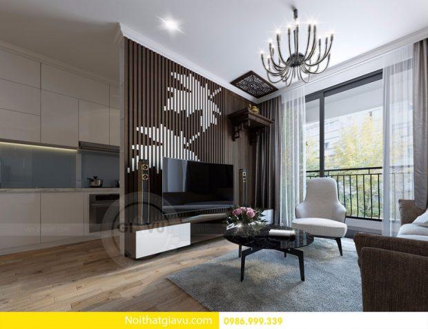 Thiết kế nội thất chung cư Gardenia tòa A2 căn 08 nhà anh Khoa