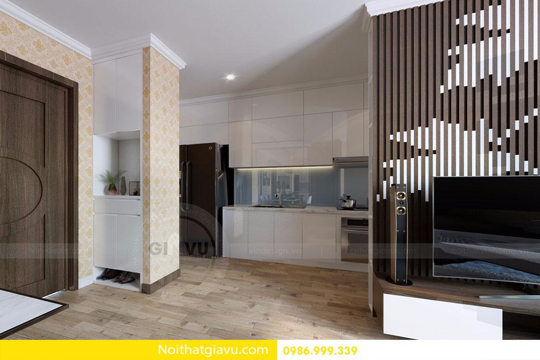 Thiết kế nội thất chung cư Gardenia 5