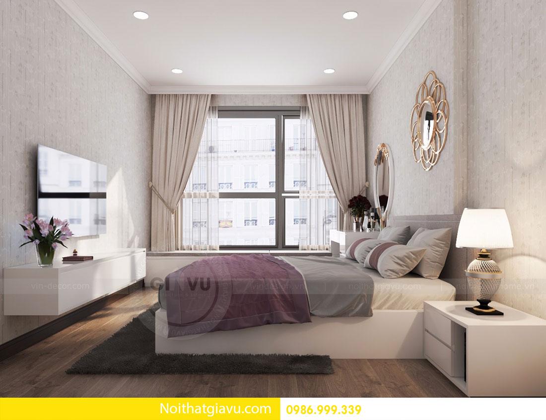 Thiết kế nội thất chung cư Gardenia 7