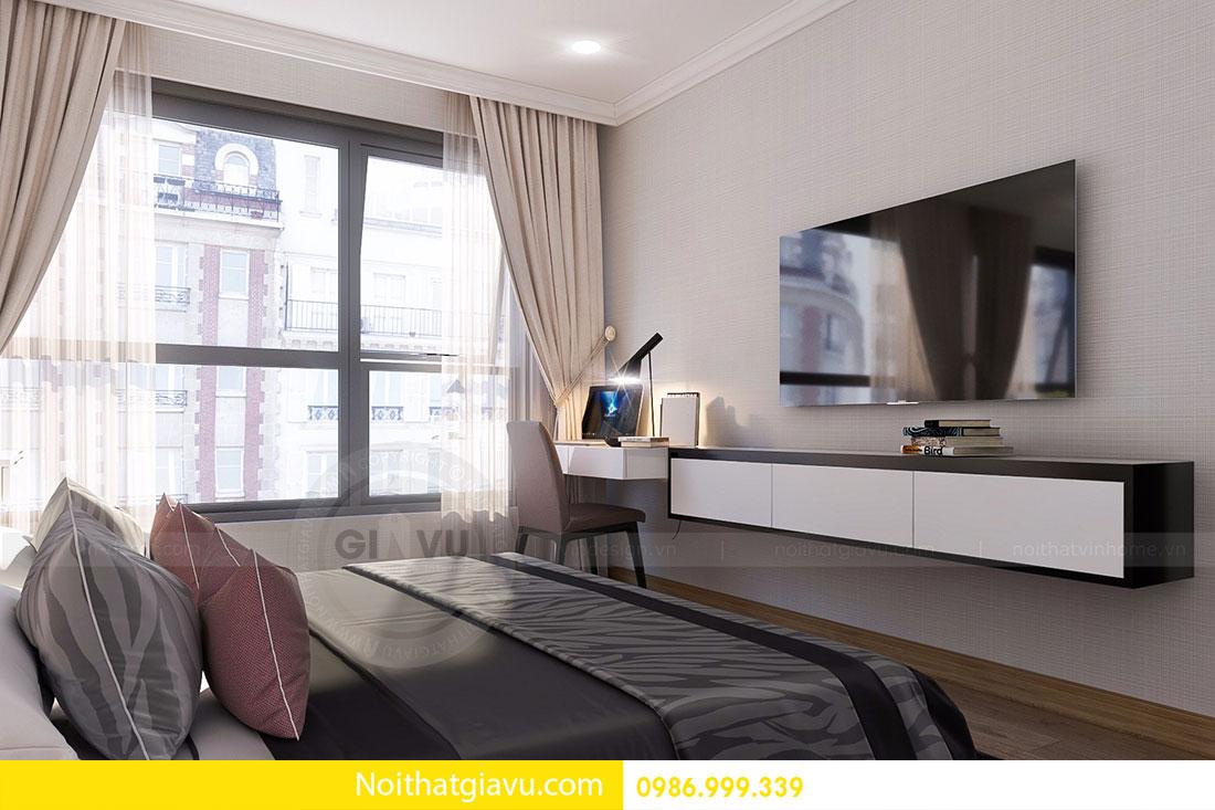 Thiết kế nội thất Gardenia căn 03 tòa A1 view 6
