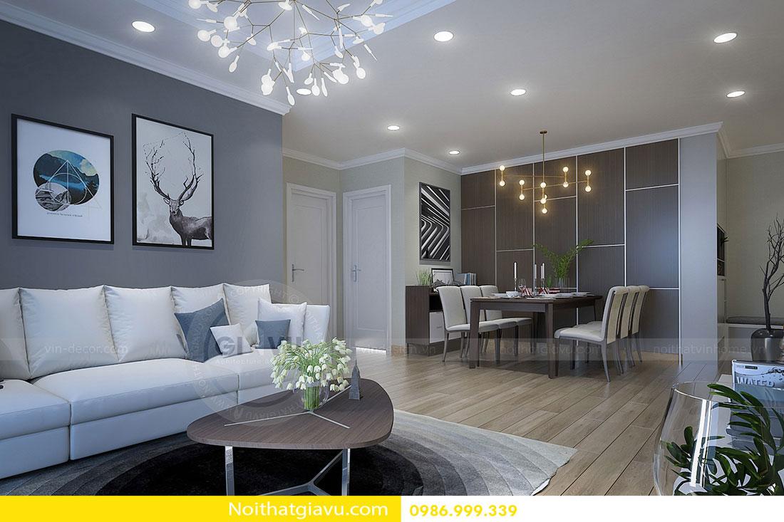 Chung cư Green Bay tận hưởng không gian nội thất sang trọng, tiện nghi 3