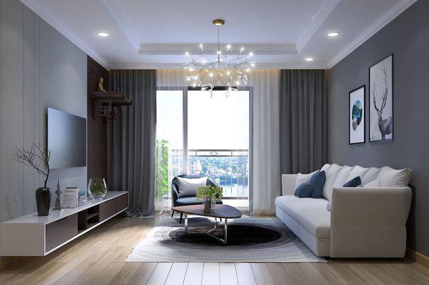 Chung cư Green Bay tận hưởng không gian nội thất sang trọng, tiện nghi
