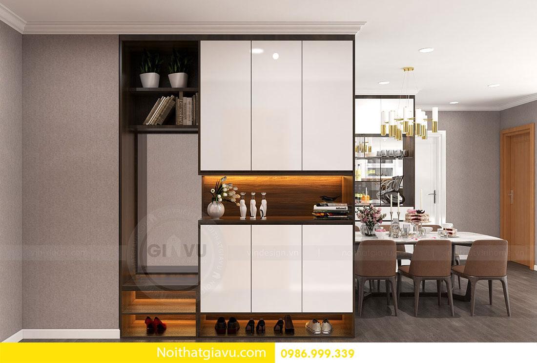 Chung cư Metropolis - Mẫu thiết kế nội thất mang phong cách hiện đại 1