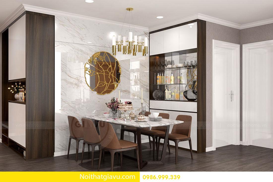 Chung cư Metropolis - Mẫu thiết kế nội thất mang phong cách hiện đại 2
