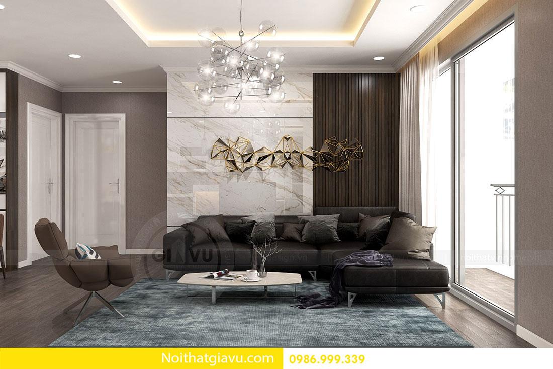 Chung cư Metropolis - Mẫu thiết kế nội thất mang phong cách hiện đại 3