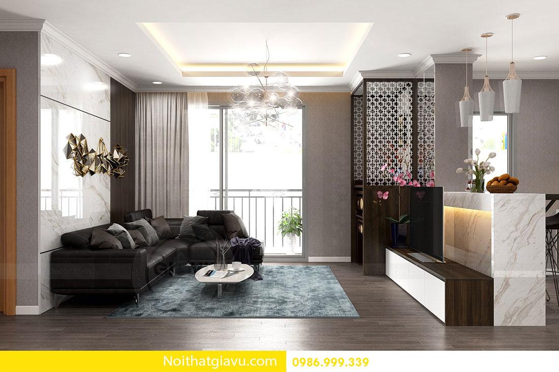 Chung cư Metropolis - Mẫu thiết kế nội thất mang phong cách hiện đại 5