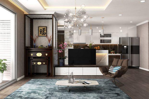 Chung cư Metropolis – Mẫu thiết kế nội thất mang phong cách hiện đại