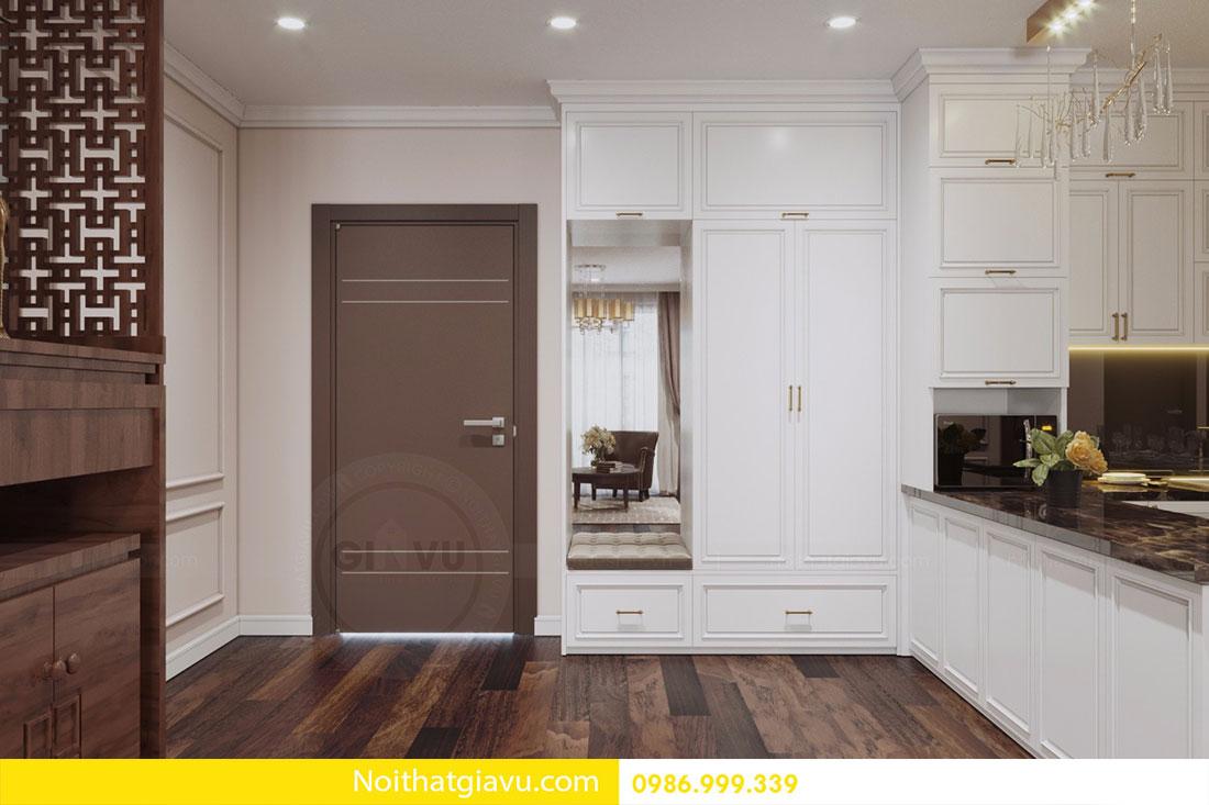 Thiết kế nội thất chung cư DCapitale tòa C1 căn 10 view 1