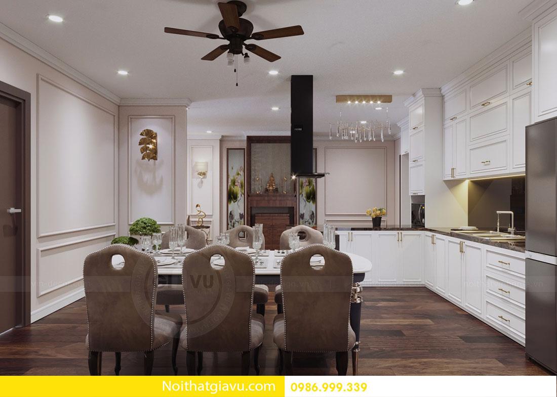 Thiết kế nội thất chung cư DCapitale tòa C1 căn 10 view 7
