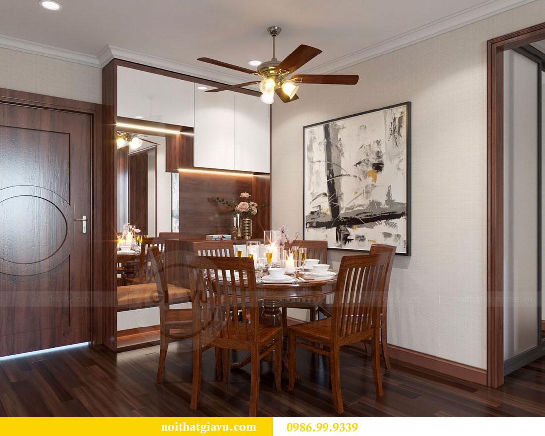 Thiết kế nội thất chung cư Vinhomes D Capitale 1