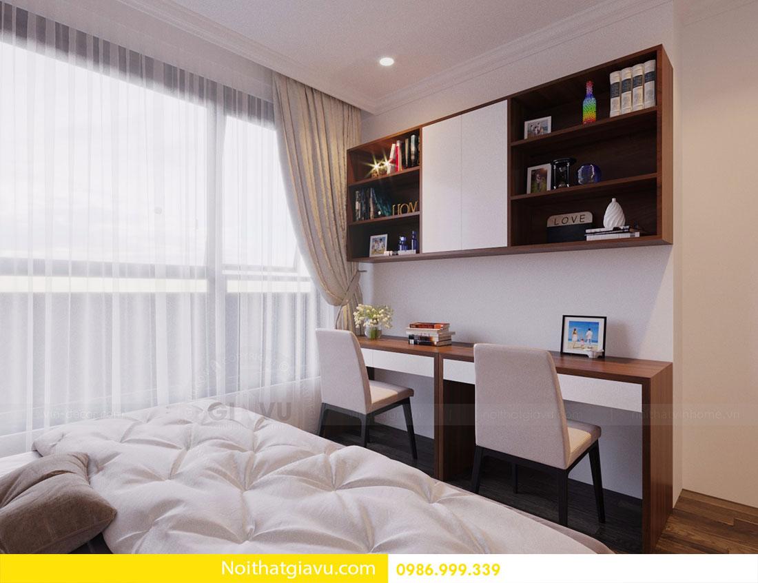 Thiết kế nội thất chung cư Vinhomes D Capitale 12