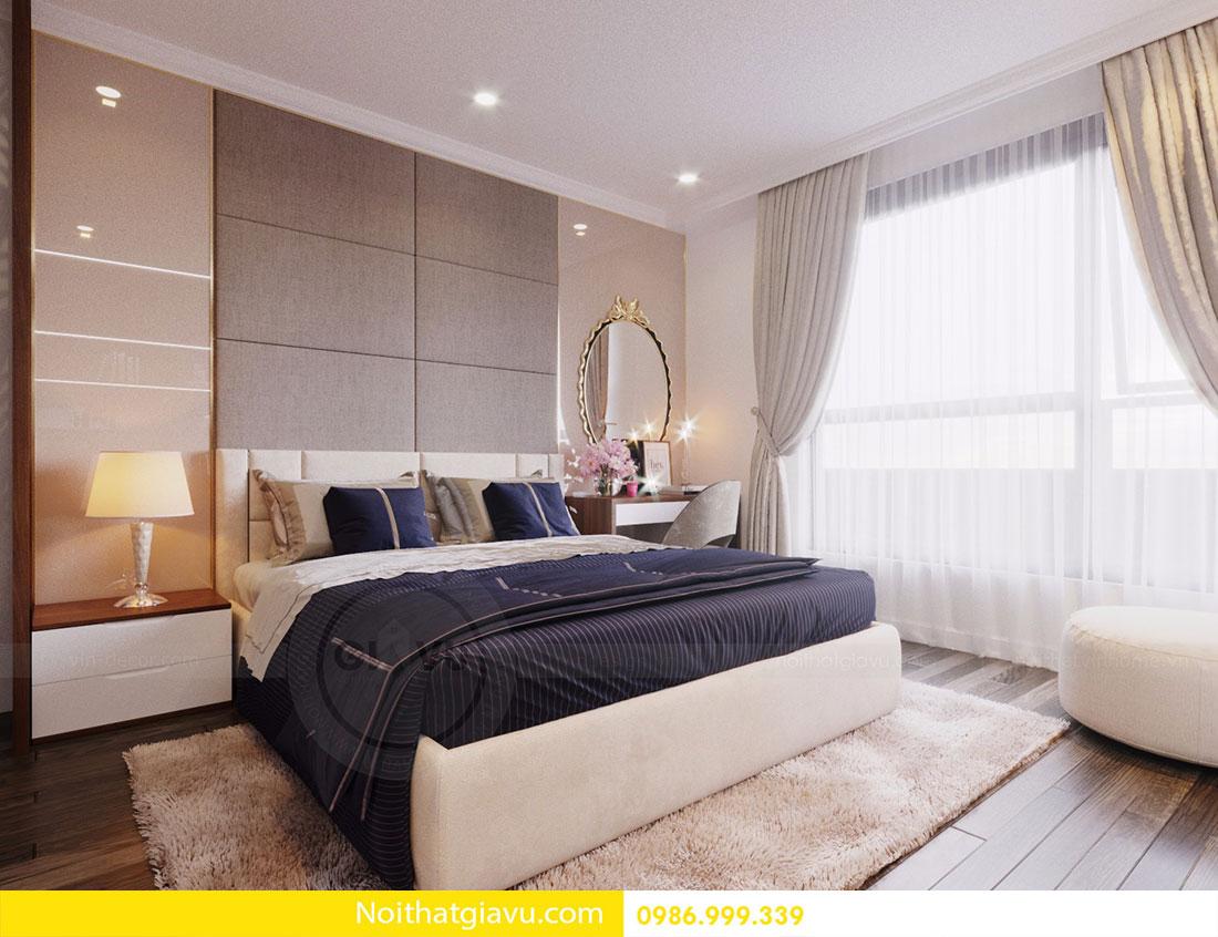 Thiết kế nội thất chung cư Vinhomes D Capitale 15