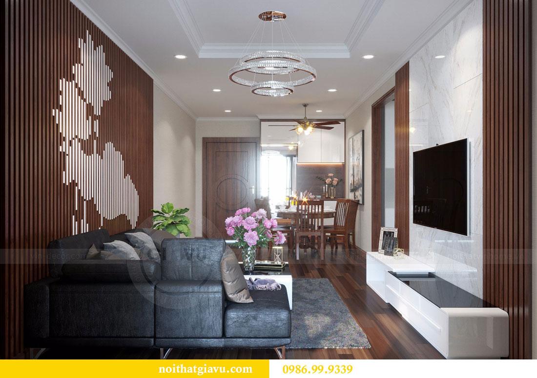 Thiết kế nội thất chung cư Vinhomes D Capitale 3