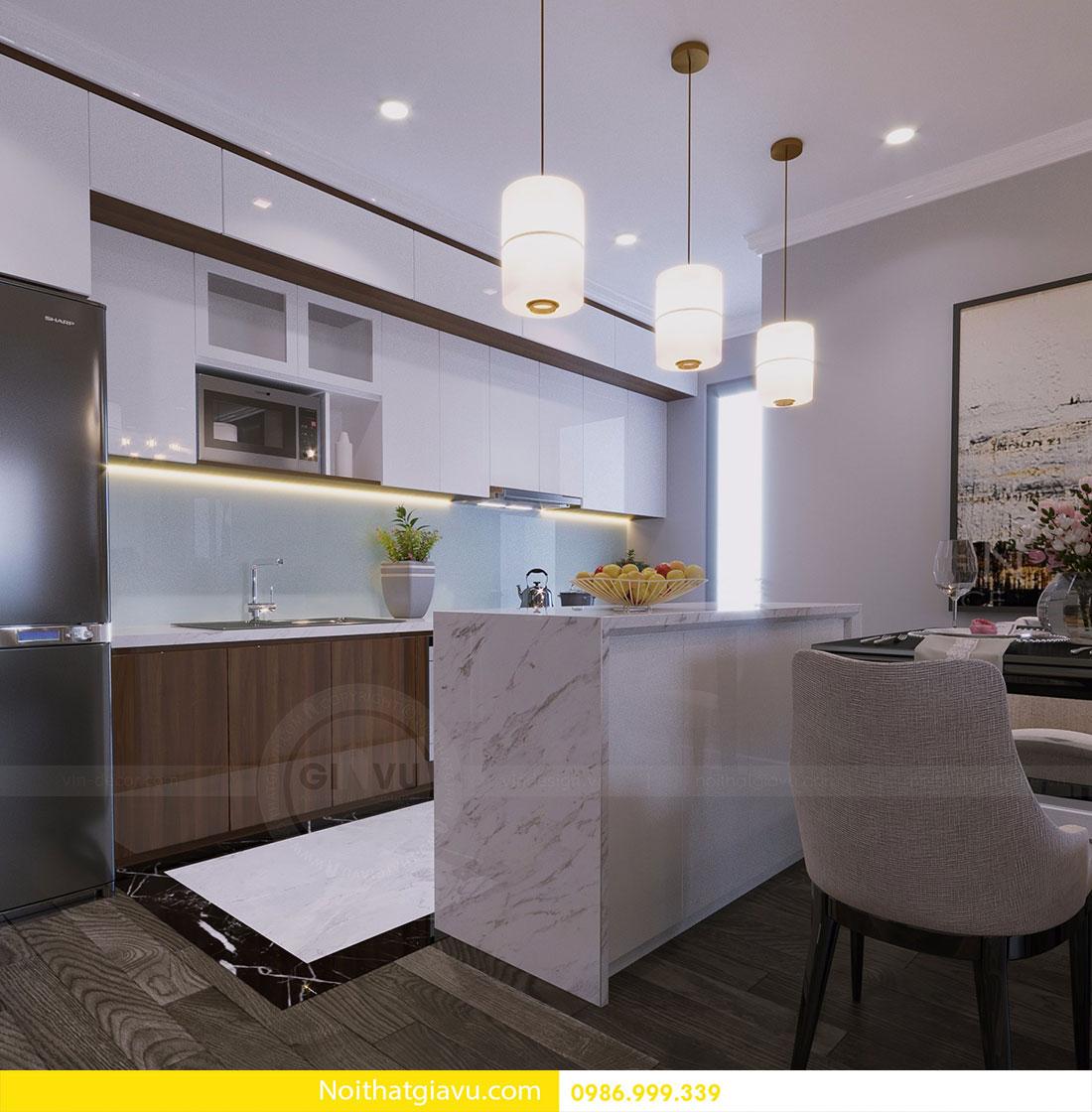 Thiết kế nội thất chung cư Vinhomes D Capitale 4