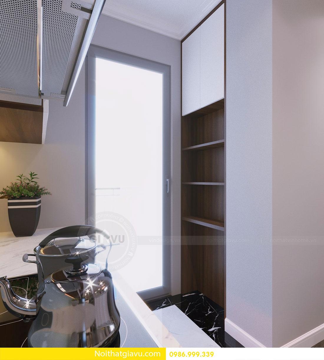 Thiết kế nội thất chung cư Vinhomes D Capitale 6